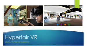 Hyperfair Virtual Event Interaction Information Brochure